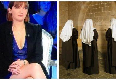 Aurore Bergé, répudiée, entre au couvent des Ursulines à Paris.