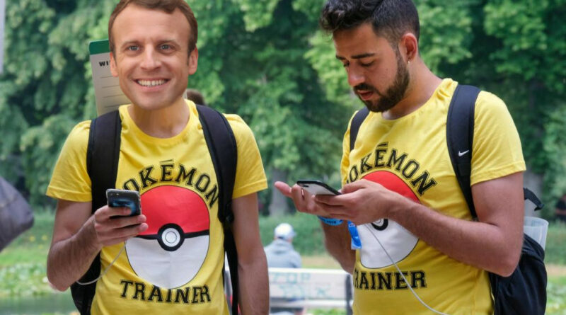 Macron Pokemon