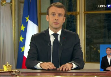 Apres sa gifle, Macron presentera sa demission vendredi à 20h.