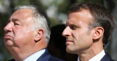 Macron prend quelques kilos pour séduire l'électorat de Gerard Larcher