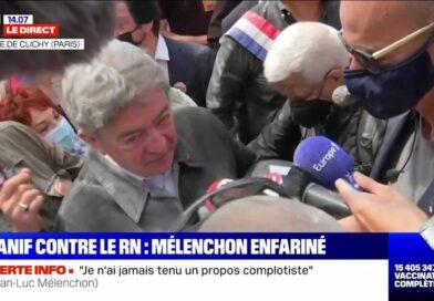 """Mélenchon se défend d'être complotiste : """"J'ai le soutien de Bigard !"""""""