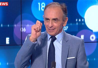 """Zemmour : """"Si je suis élu, je choisirai tous les prénoms des nouveaux-nés sur le sol français."""